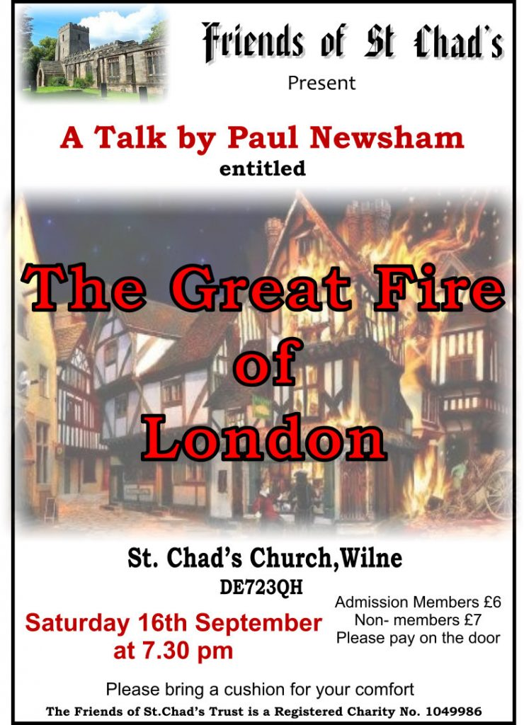 2017 Paul Newsham The great Fire of Ldn