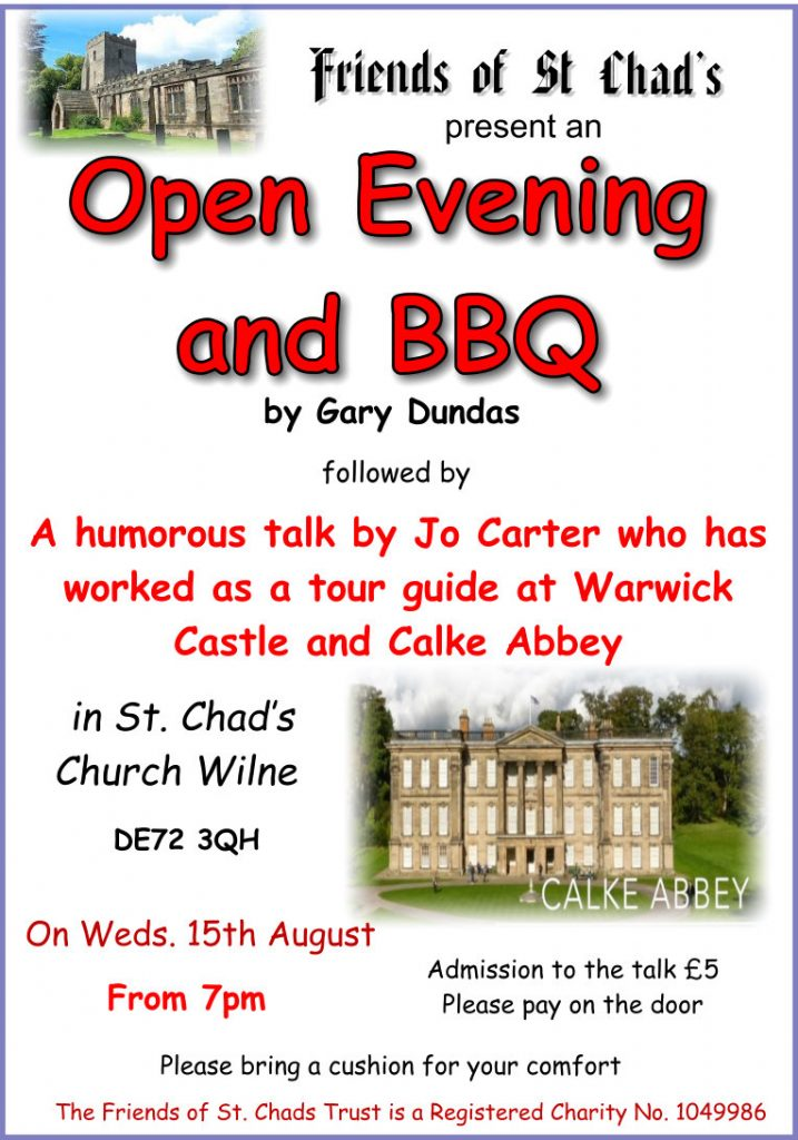 2018 Open eve & bbq