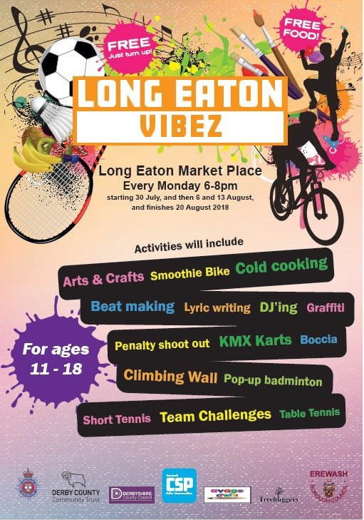 Long Eaton Vibez August 2018