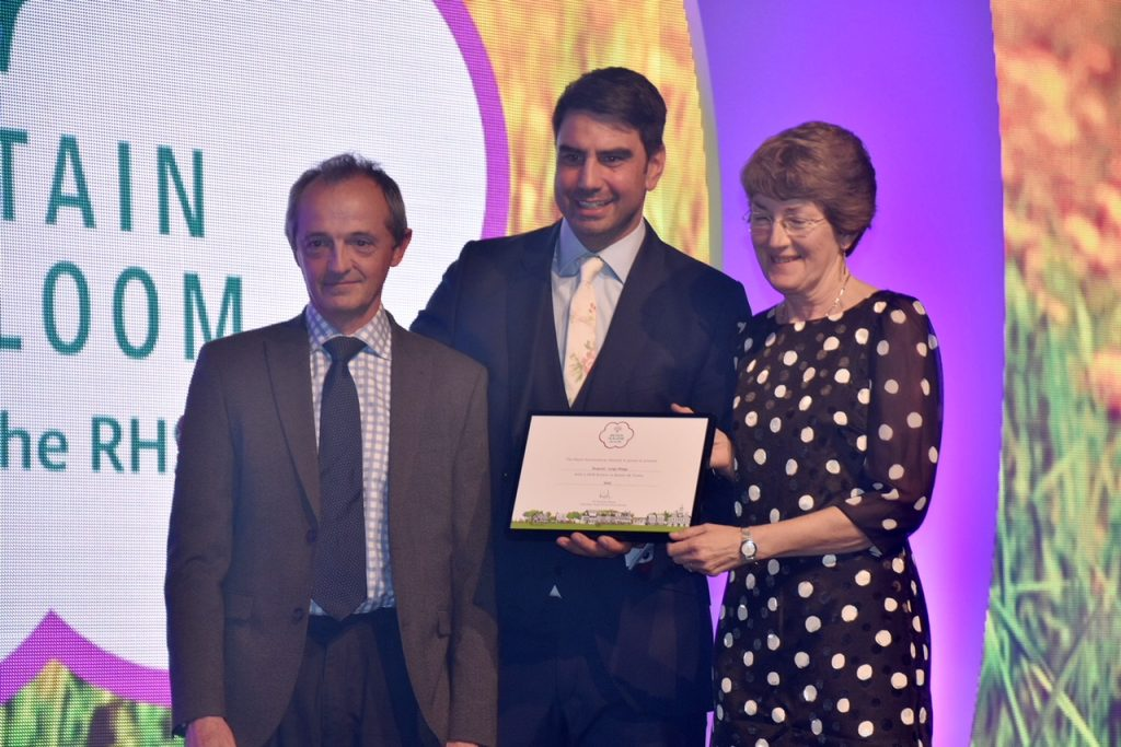 DIB Gold Award Britain in Bloom Oct 2018