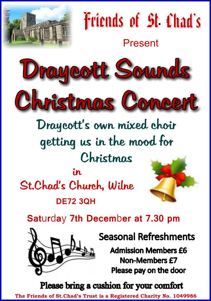 Draycott Sounds Christmas Concert Advert
